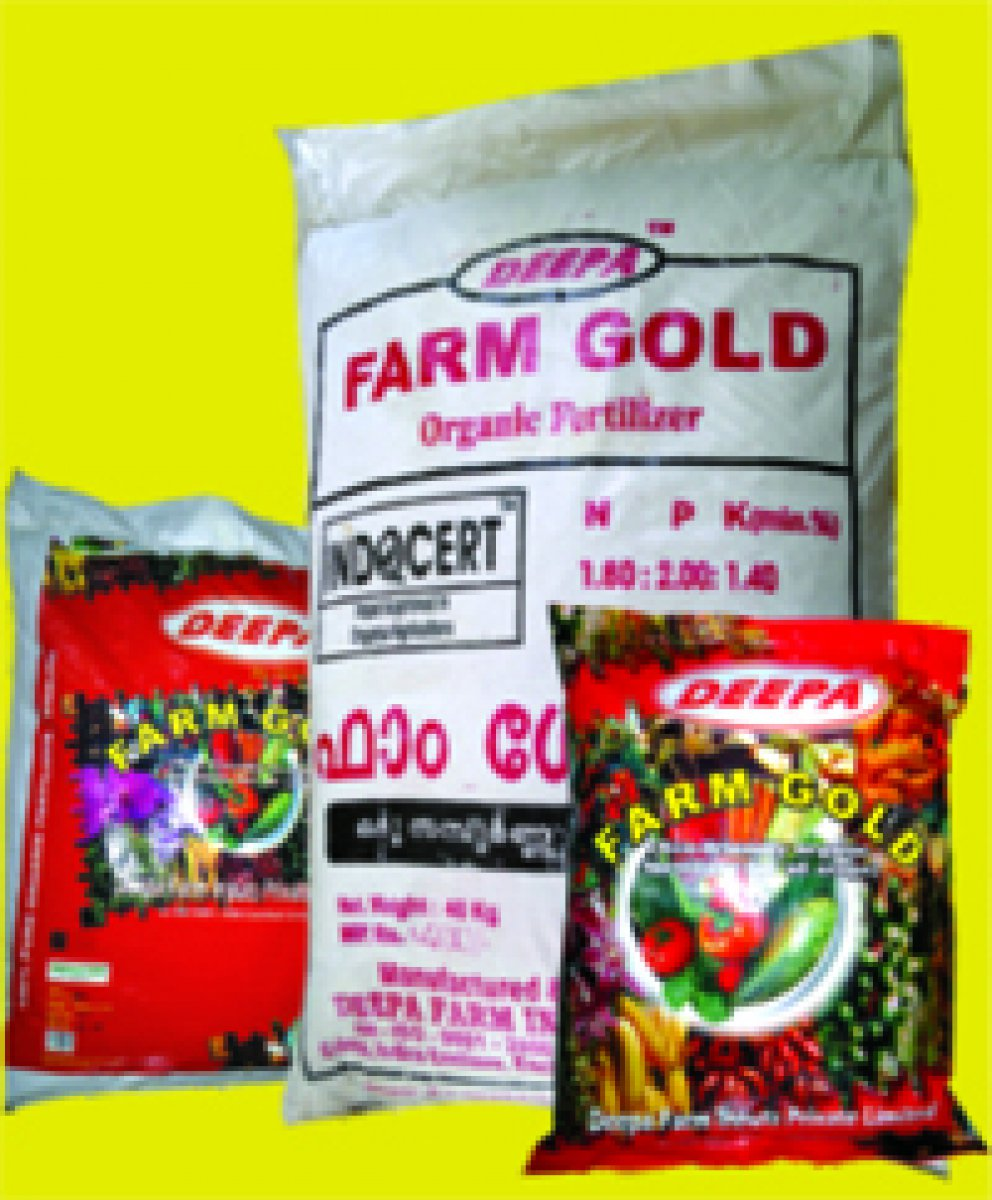 DEEPA - FARM GOLD - AN ENRICHED ORGANIC FERTILIZER/MANURE